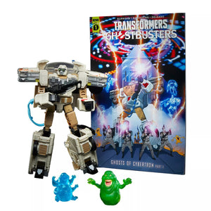 Transformers Generations Ghostbusters Afterlife 2021 Collaborative Ectotron Ecto-1 Action Figure