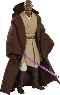 Star Wars The Black Series Lucasfilm 50th Anniversary Episode I Mace Windu 6 Inch Action Figure