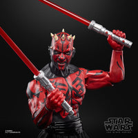 Hasbro Star Wars Black Series Lucasfilm 50th Anniversary Legends Darth Maul Sith Apprentice 6 Inch Action Figure Exclusive