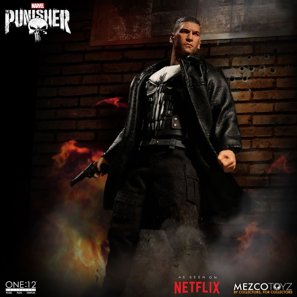 Mezco Toys One:12 Collective: Marvel's Netflix Punisher Action Figure 2