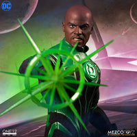Mezco Toys One:12 Collective: John Stewart Green Lantern Action Figure 3