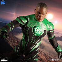 Mezco Toys One:12 Collective: John Stewart Green Lantern Action Figure 5