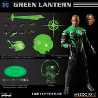 Mezco Toys One:12 Collective: John Stewart Green Lantern Action Figure