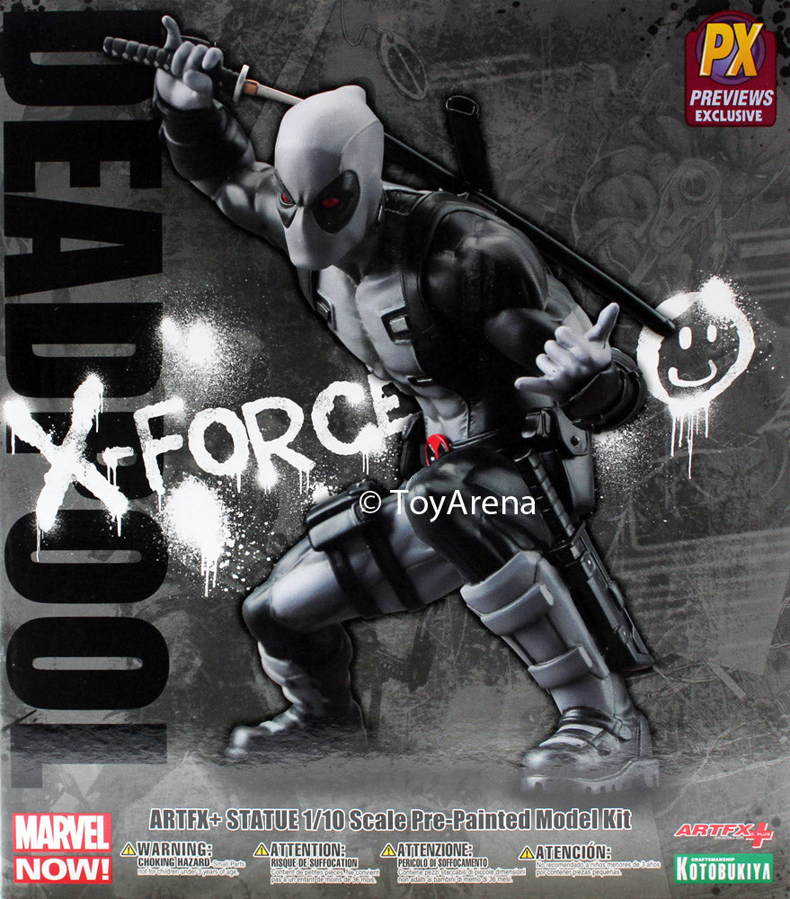 Marvel Now! Deadpool X-Force Ver 1/10 Scale ArtFX+ Statue MK176 Kotobukiya