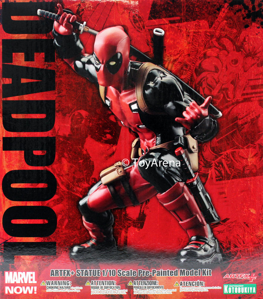 Marvel Now! Deadpool 1/10 Scale ArtFX+ Statue MK176 Kotobukiya