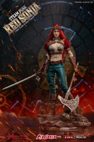 TBLeague Phicen 1/6 Steam Punk Red Sonja Deluxe Edition Sixth Scale Action Figure PL2019-140-B