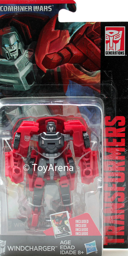 Transformers Generations Legends Combiner Wars Windcharger Action Figure