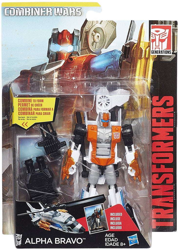Transformers Generations Combiner Wars Deluxe Class Alpha Bravo Action Figure 1