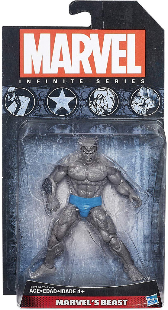 Marvel Infinite Series Beast (Grey) 3.75 inch Wave 5 Action Figure 1