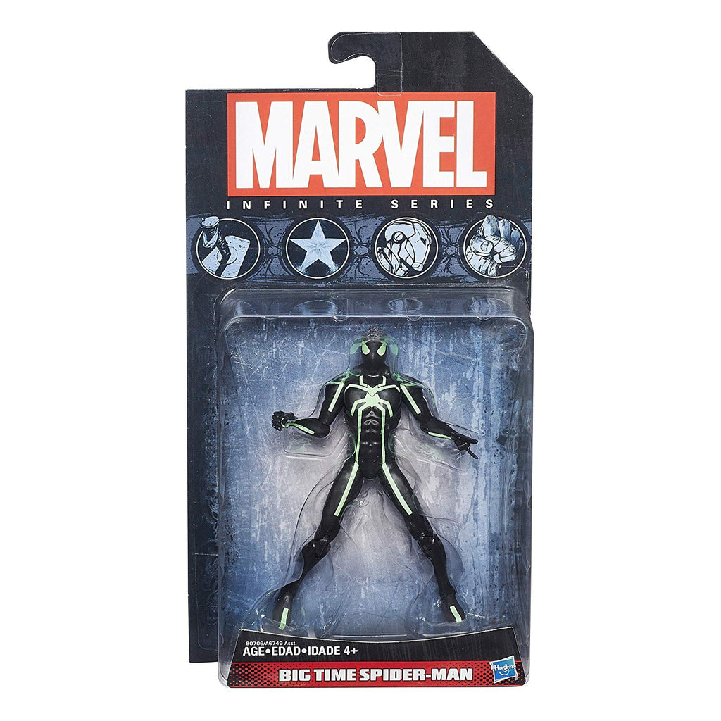 Marvel Infinite Series Big Time Spider-Man 3.75 inch Action Figure 1
