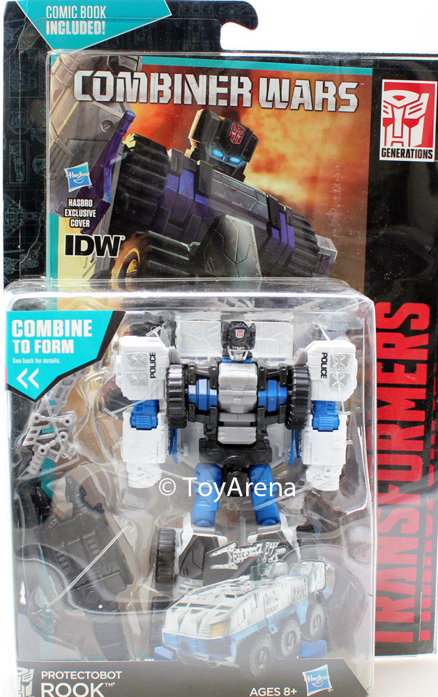 Transformers Generations Deluxe Combiner Wars Protectobot Rook Action Figure