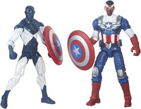 Marvel Legends Shield Wielding Heroes 3.75 inch Comic Book 2 Pack 1
