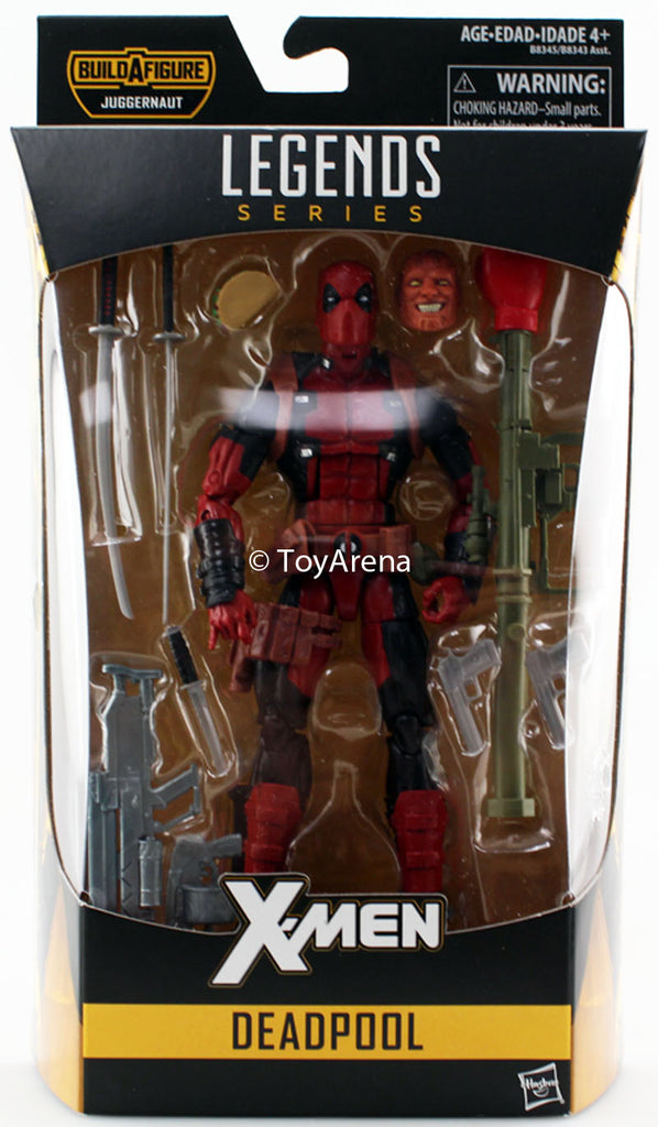 Hasbro Marvel Legends X-Men 2016 Deadpool 6 Inch Action Figure