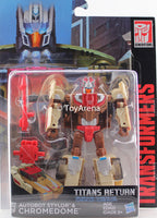 Transformers Generations Titans Return Deluxe Class Autobot Stylor & Chromedome Figure