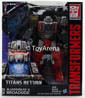 Transformers Generations Titans Return Voyager Class Blunderbuss and Broadside Figure