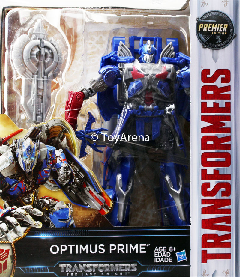 Transformers The Last Knight Autobot Optimus Prime Premier Edition Leader Class Figure
