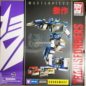 Transformers Masterpiece MP-02 Asia Exclusive Soundwave with 5 Cassestes