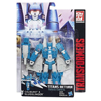 Transformers Generations Titans Return Deluxe Class Slugslinger and Caliburst Figure