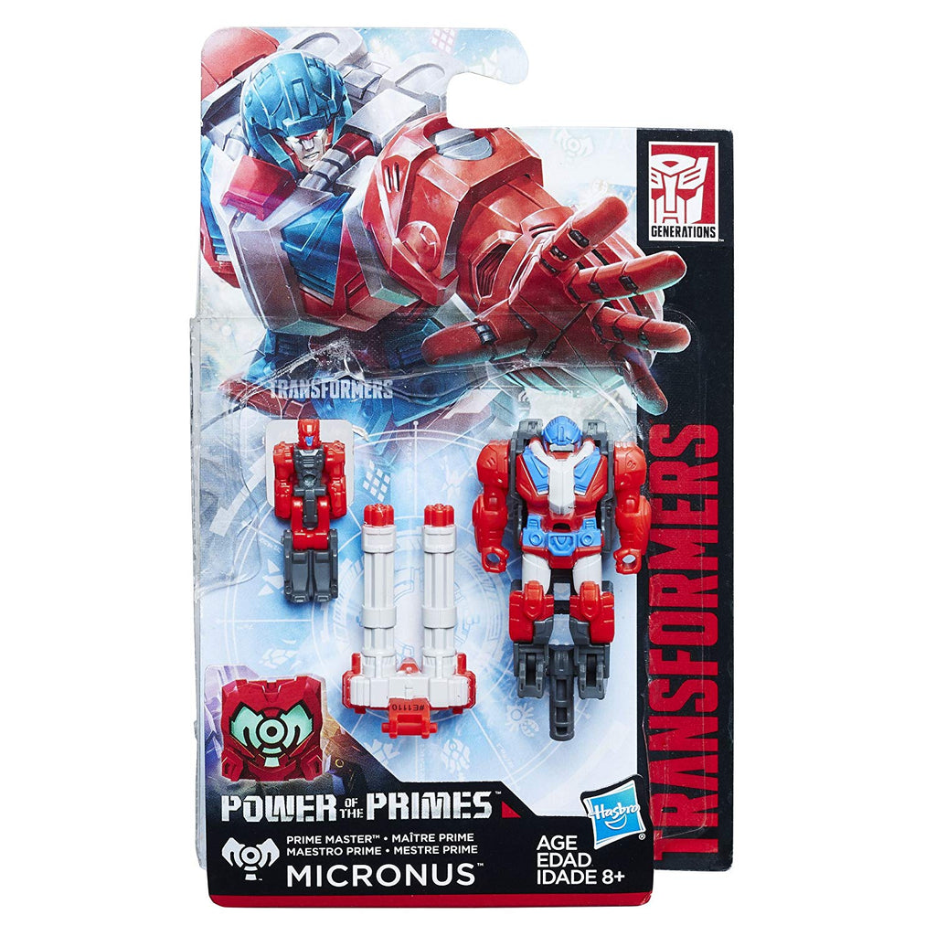 Transformers Generations Power of the Prime Master Micronus Figure