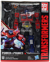 Transformers Generations Power of the Primes Leader Class Optimus Prime Figure