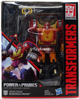 Transformers Generations Power of the Primes Leader Class Rodimus Prime Figure