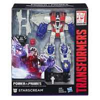 Transformers Generations Power of the Primes Voyager Class Starscream Figure