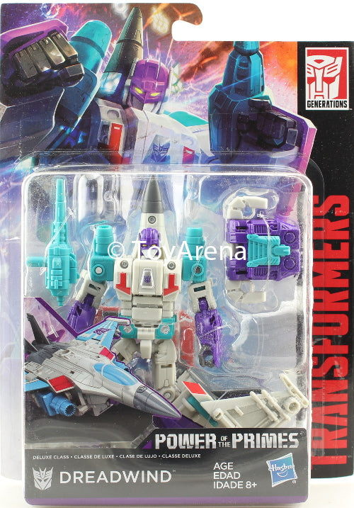 Transformers Generations Power of the Primes Deluxe Class Dreadwind Figure