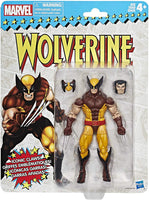 Marvel Legends Vintage Retro Series Wolverine Wave 1 Action Figure 1