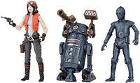 "Star Wars The Vintage Collection Doctor Aphra SDCC 3 pack 3.75"" Figure 1"