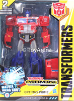 Hasbro Transformers: Cyberverse Ultimate Class Optimus Prime Action Figure