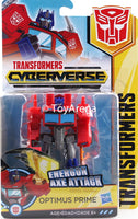 Hasbro Transformers: Cyberverse Warrior Class Optimus Prime Action Figure