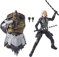 Marvel Legends Avengers Series Black Widow Cull Obsidian BAF Wave Action Figure 3