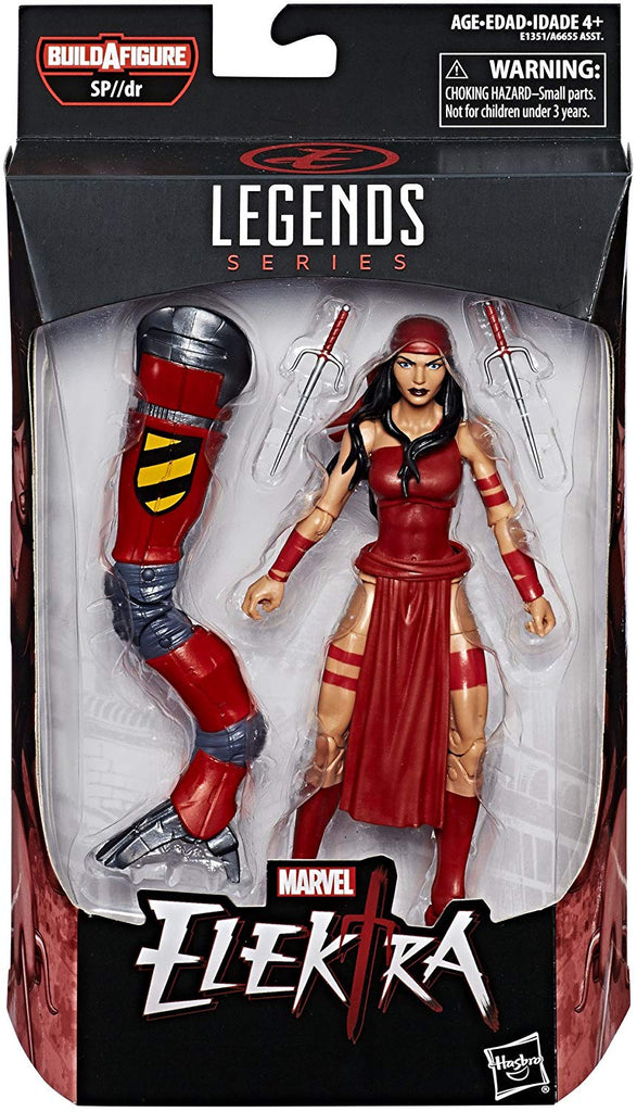 Marvel Legends Spider-Man Series Elektra Sp//dr Spider BAF Wave Action Figure 1
