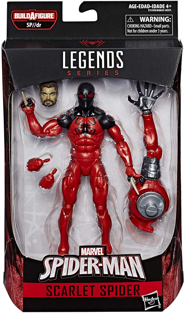 Marvel Legends X-Men Series Scarlet Spider Sp//dr Spider BAF Wave Action Figure 1