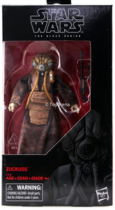 Star Wars Black Series Zuckuss Action Figure Disney Exclusive