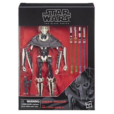 Star Wars The Black Series D1 General Grievous 6 Inch Action Figure