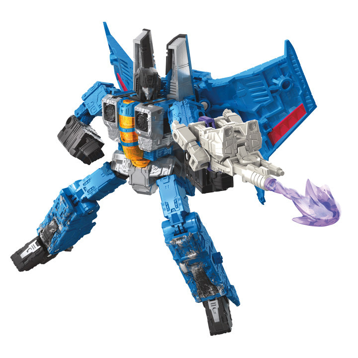 Transformers Generations War For Cybertron: Siege Voyager Thundercracker Action Figure WFC-S39