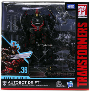 Transformers Generations Studio Series #36 Drift with Dinobot Action Figure