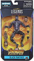 Marvel Legends Black Panther Series Vibranium Black Panther M'Baku BAF Wave Action Figure 1
