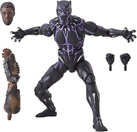 Marvel Legends Black Panther Series Vibranium Black Panther M'Baku BAF Wave Action Figure 3