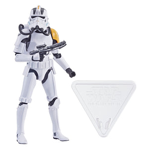 Star Wars Black Series Imperial Jumptrooper Action Figure Gamestop Exclusive