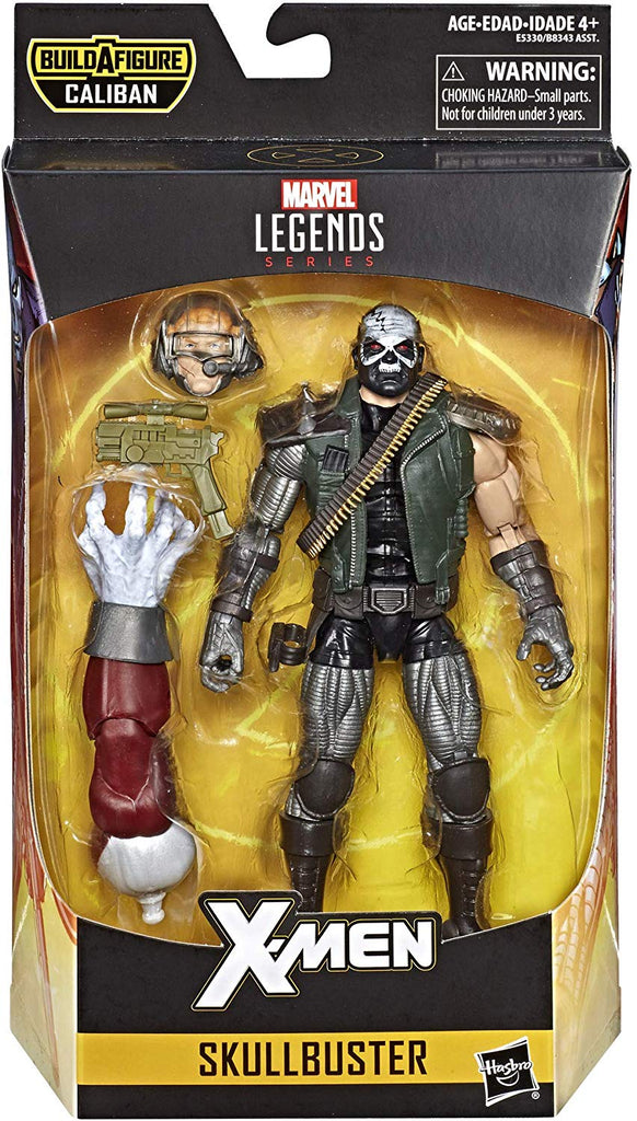 Marvel Legends X-Men Series Skullbuster Caliban BAF 1