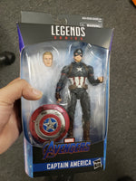 Marvel Legends End Game Worthy Captain America w/ Hammer Action Figure Walmart Exclusive