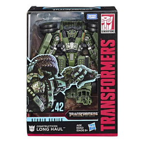 Transformers Generations Studio Series #42 Constructicon Long Haul Action Figure
