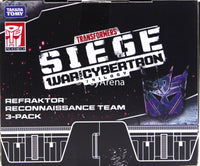 Transformers Generations War For Cybertron: Siege Refraktor (Reflector) Reconnaissance Team 3-Pack Action Figures Exclusive