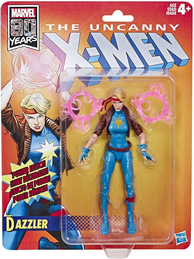 Marvel Legends Retro Series Dazzler Wave 1 Action Figure 1