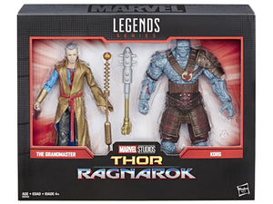 Marvel Legends: Marvel's Thor Ragnarok Grandmaster and Korg 2 pack Action Figures 1