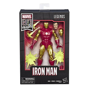 Marvel Legends 80th Anniversary: Classic Iron Man Action Figure 1
