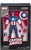Marvel Legends 80th Anniversary Series Captain America Walmart Exclusive Action Figure 1