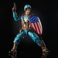 Marvel Legends Ultimate Captain America with Motorcycle Action Figure 6